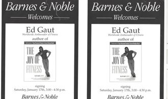 Ed Gaut does book signing at Barnes & Noble Follow Ed Gaut pics find Ed Gaut on Facebook @ Ed Gaut