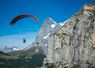 Hang gliding - The Eiger in Switzerland
