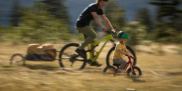 Family Bicycling, Mountain Biking, Outdoors, Bicycle Trailer, Adult Bicycles, Children's Bicycles, E