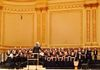 In Carnegie Hall wilth the NMC Children's Choir, April, 2016