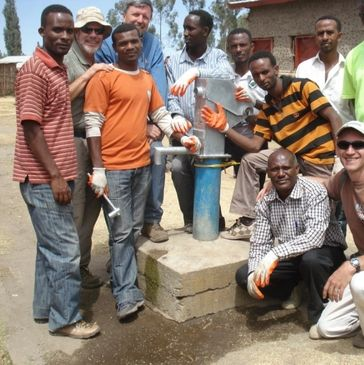 Pump Repair, Ethiopia, International WASH projects, Technical Training & Stakeholder Engagement