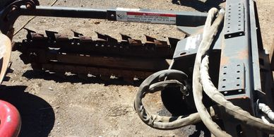 Attachments for available for S185 skid and for MTs. Rent with our machines or for yours.