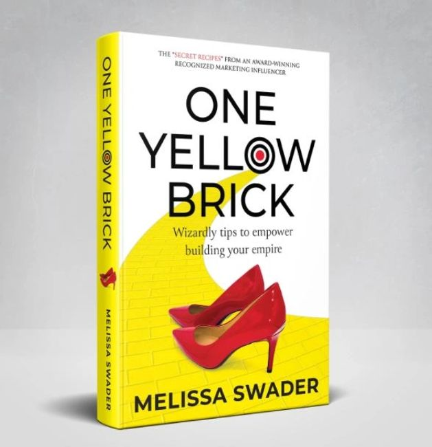 one yellow brick, book author, book, new book, amazon books, melissa swader