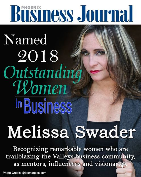 Melissa Swader Named 2018 Outstanding Women in Business