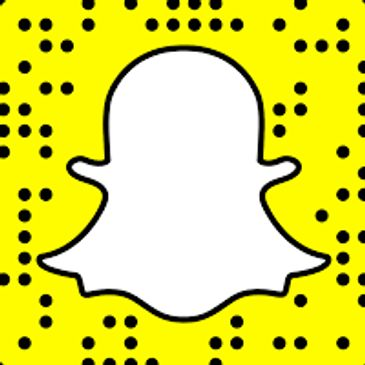 Snapchat icon button to connect to my snapchat
