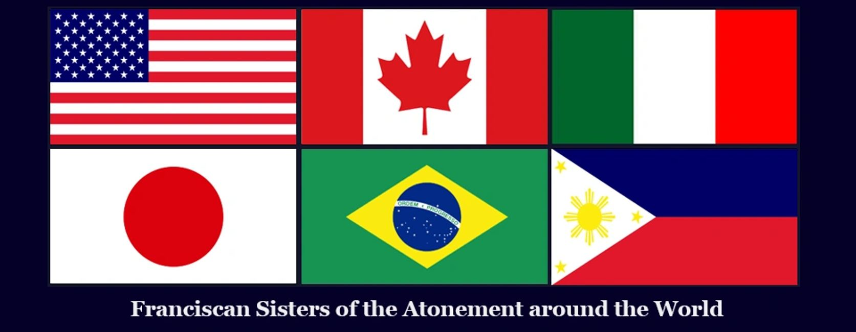 Franciscan Sisters of the Atonement Community Contacts.  Vocations. Graymoor Sisters. Mother Lurana