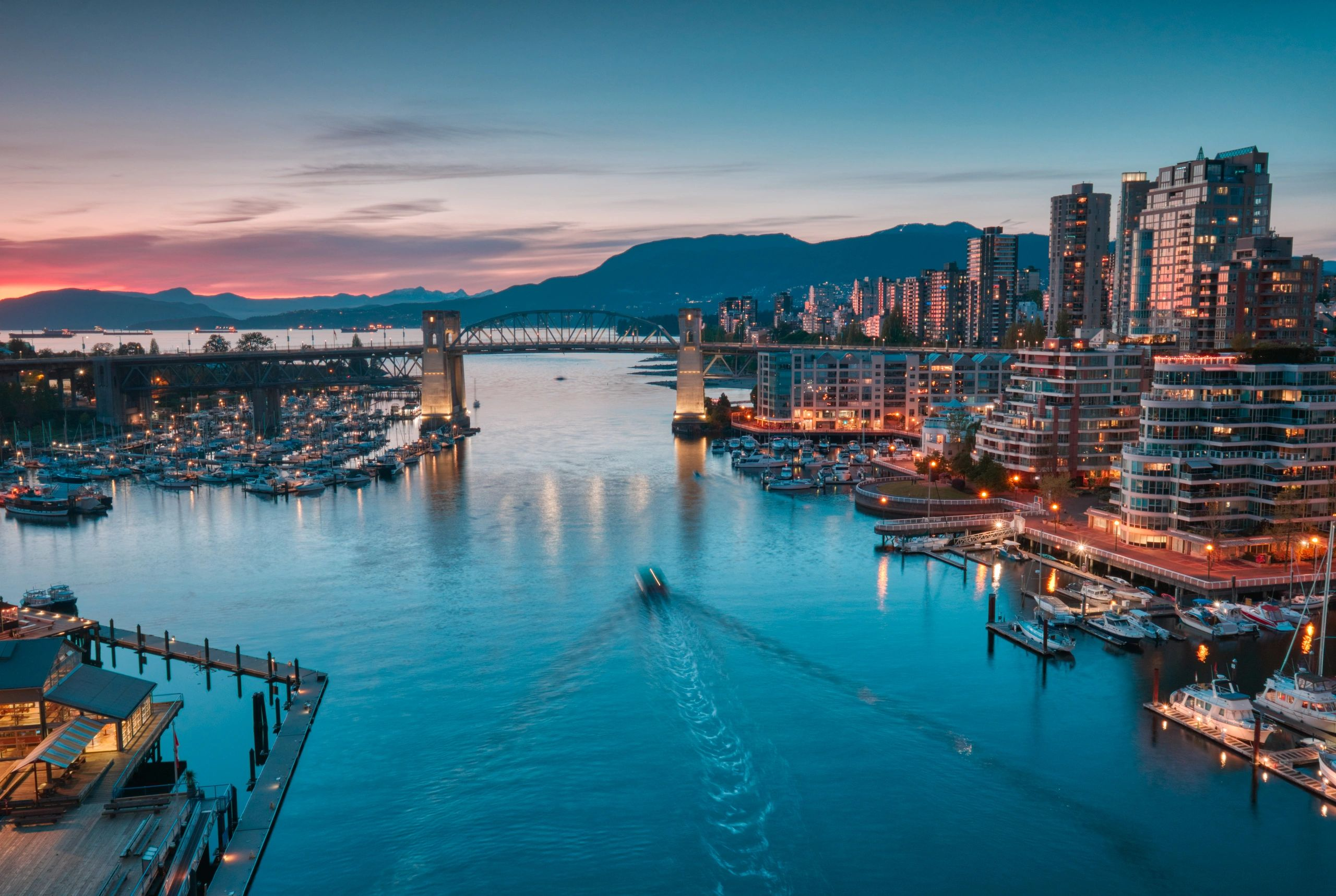Downtown Vancouver, Canada.