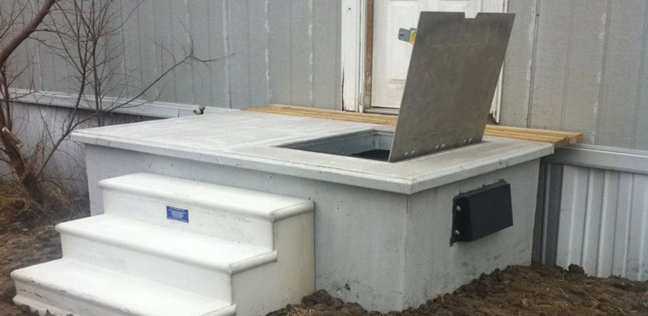 Safeporch storm shelters