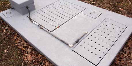 Fiberglass Septic cover