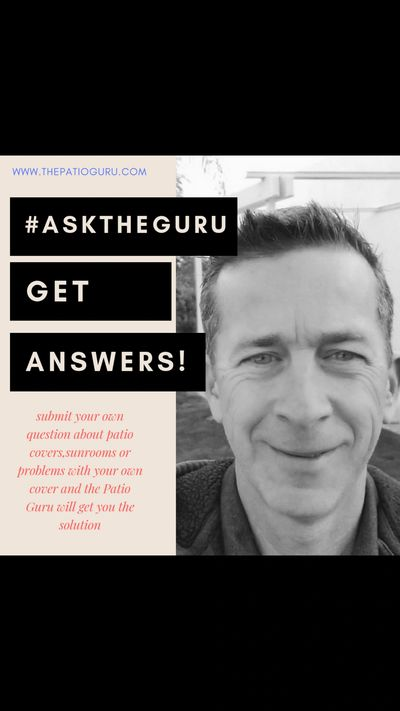 Ask The Patio Guru your patio related questions!
