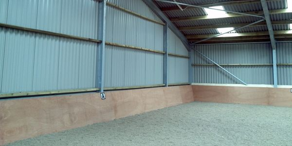 Riding arena covered equestrian centre