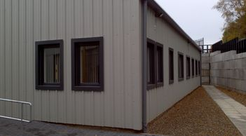 Bespoke steel framed and clad office buildings
