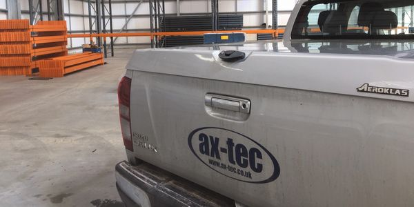 Ax-Tec on site during another commercial warehouse build