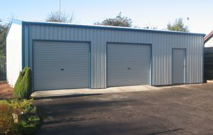 Ax-tec build single, double, triple and bigger garages all to your exact specifications.
