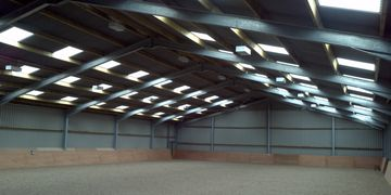 Equestrian Centre Riding School Arena