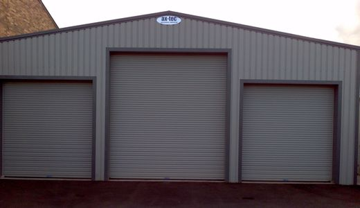 Ax-Tec design supply and install car and commercial garages and buildings nationwide