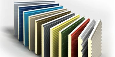 Kingspan cladding colours and profiles