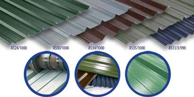 Cladding supplied from one sheet to 1000 and more