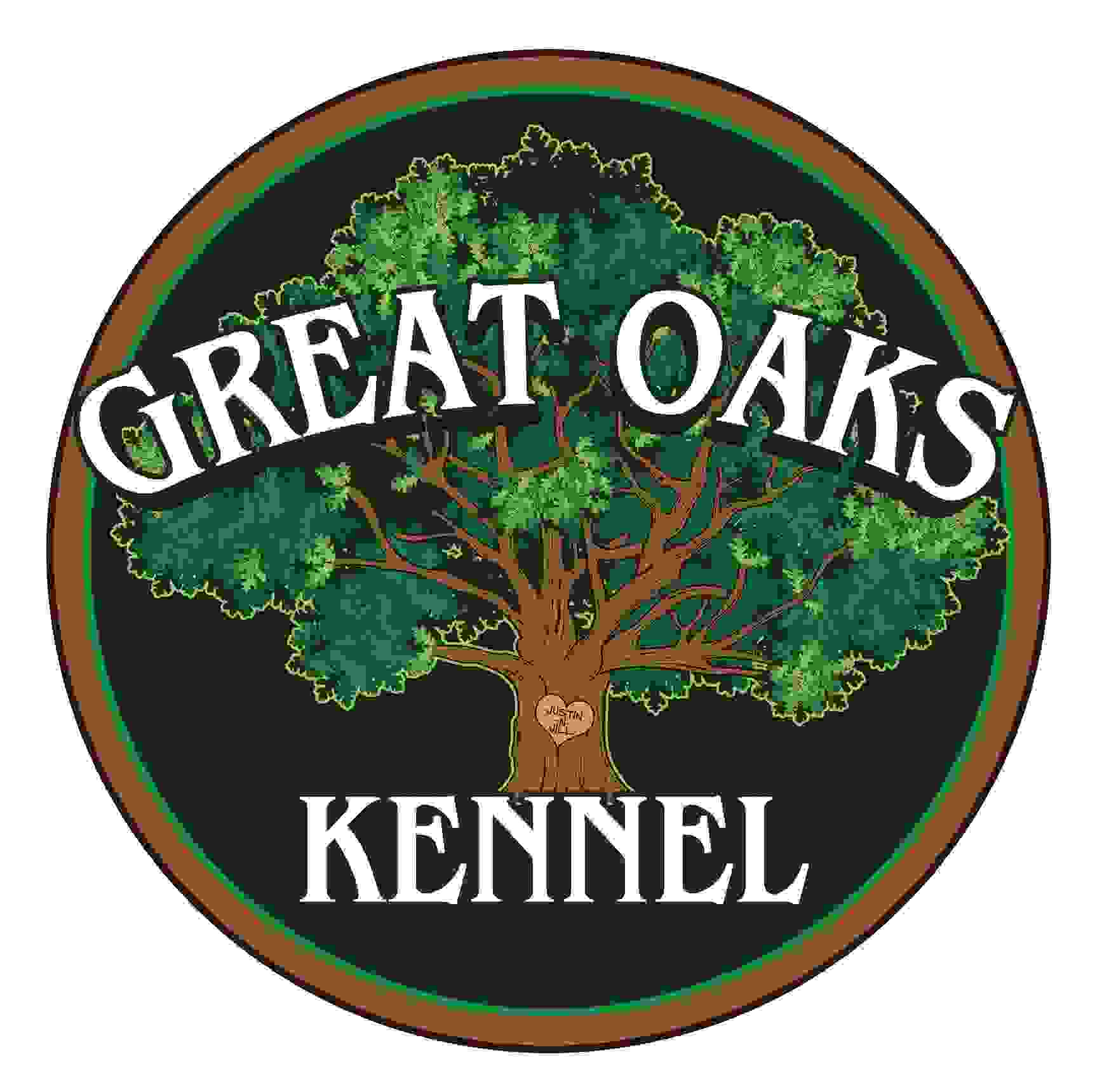 Great Oaks Kennel Logo