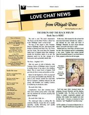 Love Chat News, Volume 1, Issue 2, December 2016 2,