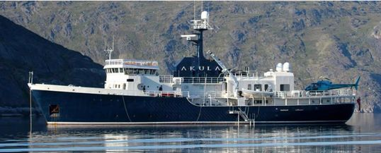 AKULA expedition yacht for sale