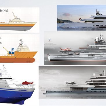 Vessel conversions to expedition yachts