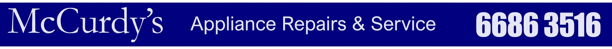 McCurdy's Appliance Repairs & Service