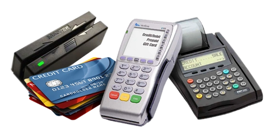 Countertop credit card machines