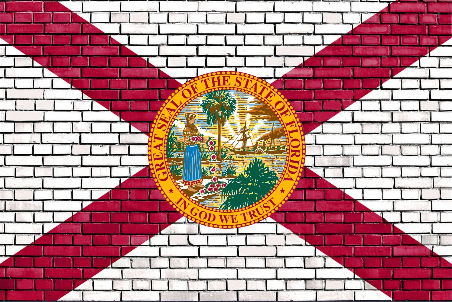 Official State of Florida flag