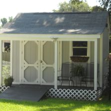One of many nice storage sheds in Bloomington, IL
