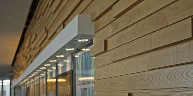 Architectural custom paneling from Minnesota Timber & Millwork
