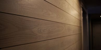 Custom wood paneling from Minnesota Timber & Millwork