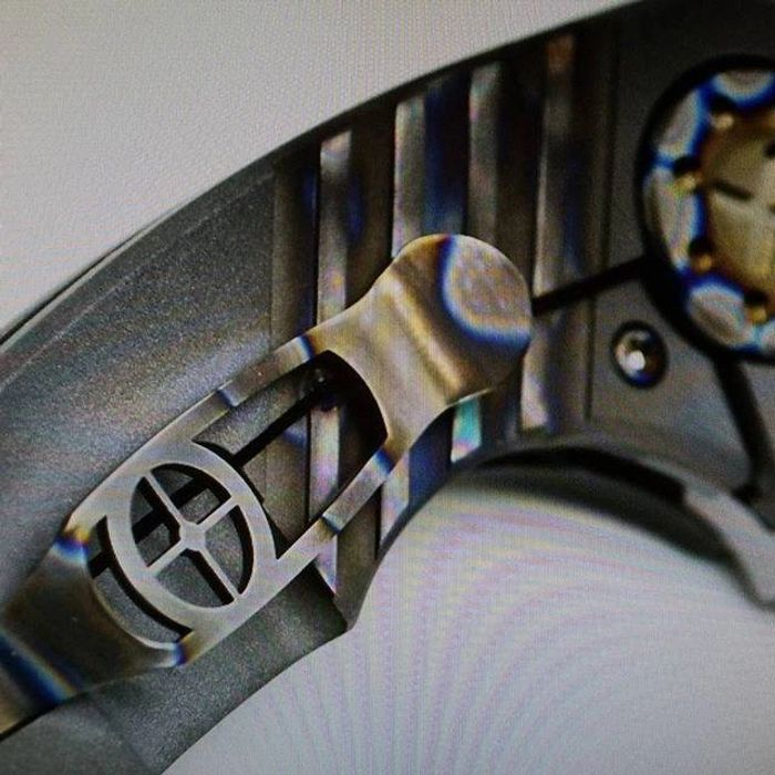 F3 Compact with WC milling and torched titanium.