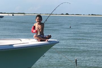 Family fishing fun! Add fishing poles and bait for some catch and release fishing.