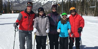 This is how we want the ski experience to look.  Safe, Family Fun, outdoor wholesome experience