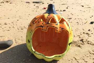craftsea paint your own pottery studio mumbles swansea south wales pumpkin bowl sustainable