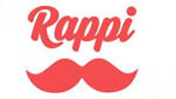 Logo marca do Rappi Delivery.