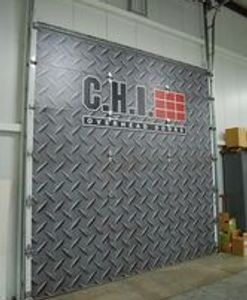 C.H.I Logo'd Sectional Overhead Door