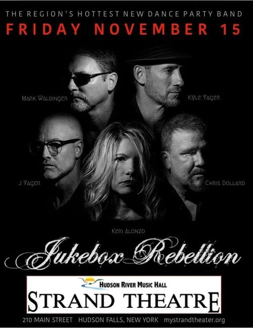 Jukebox Rebellion christens the brand new dance floor at The Strand, Friday, November 15th! 9pm show