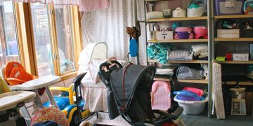 Baby Swings, High Chairs, Strollers