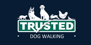 Trusted Pet Carers logo for Dog walker, dog walkers, dog walking, caring for dogs