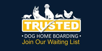 Trusted Pet Carers dog boarding logo