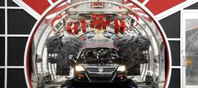 Our heated drying tunnel is equipped with 16 blowers and two heated burners that drys your vehicle.