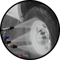 3 Step Wheel Cleaner is an advanced 3-step process that uses a combination of high pH soap, friction