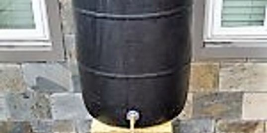 Houston Rain Barrel