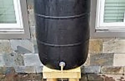 Homemade Rain Barrel in Houston TX
