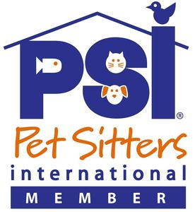 PSI Logo.  Professional Pet Sitters International Logo.