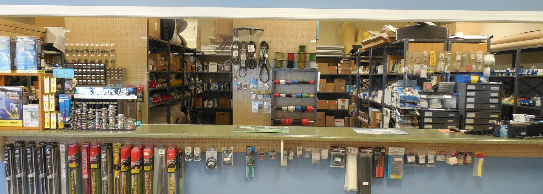 Boat, RV and Trailer Parts Counter