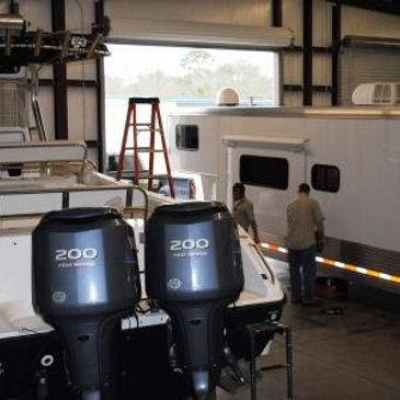 RV, boat and trailer service and repairs