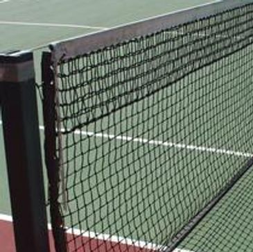 Installation of tennis nets